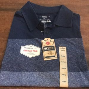 2 for $25 Urban Pipeline Ultimate PoloAuthentic